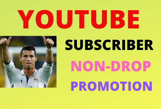 Manually Non Drop And YouTube Promotion Marketing Instant Start just