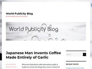 World Publicity Blog Sponsored Blog Review