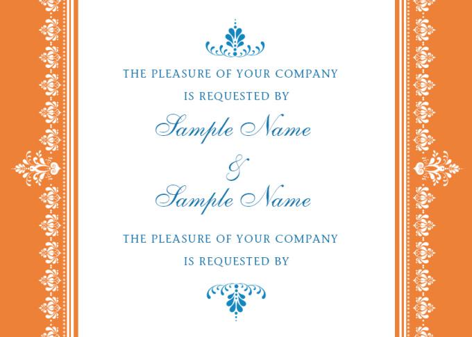 create the most Elegant Wedding Invitation