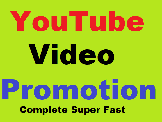 Fast YouTube Video Promotion and Marketing Worldwide User