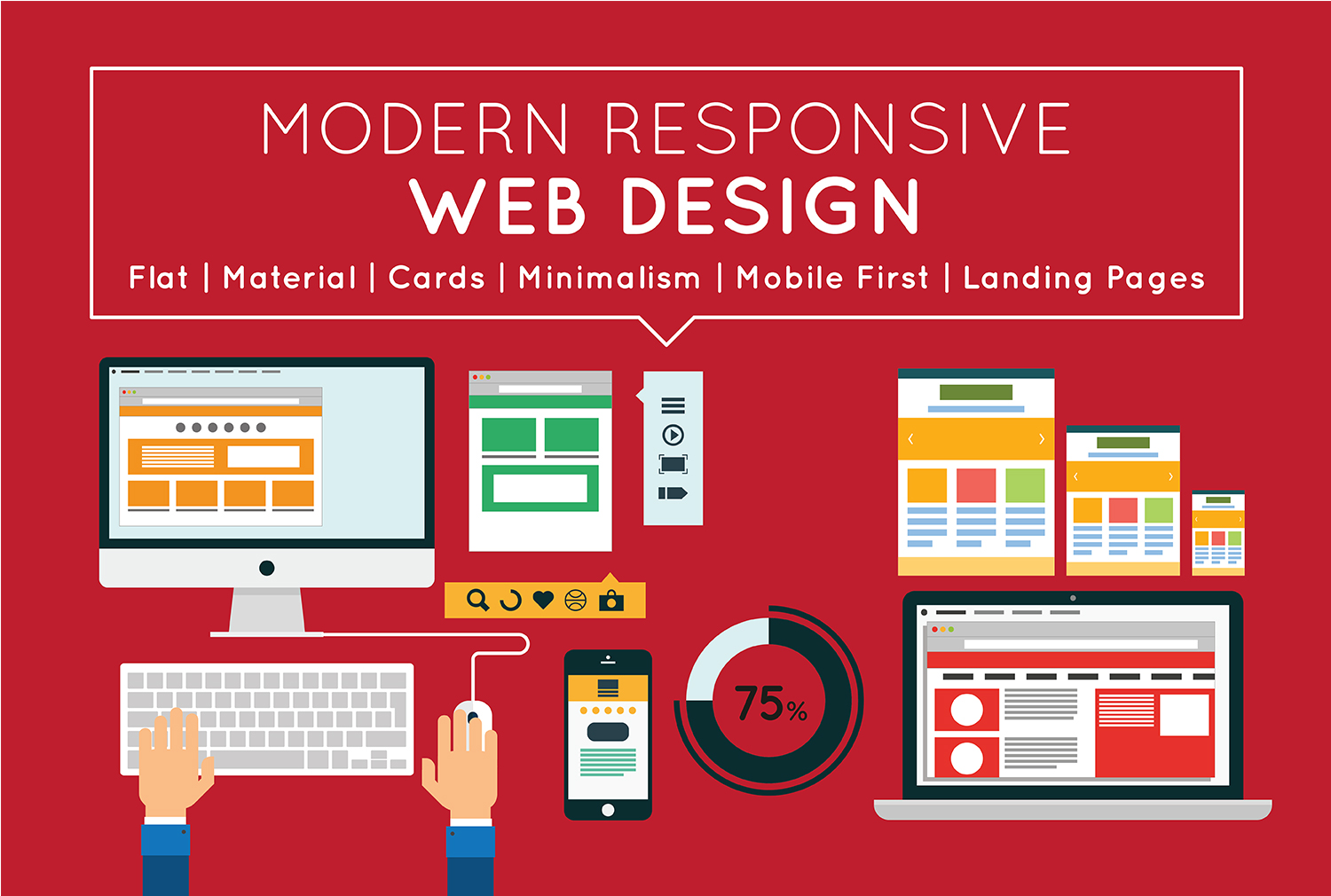 I will Design or Redesign Responsive Websites