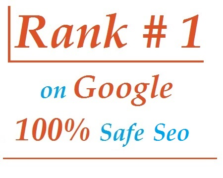I will rank you first in google or full refund
