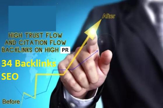 I will manualy RANK your website on Google 29 PR9 social SEO links PLUS 5 high Trustflow backlinks