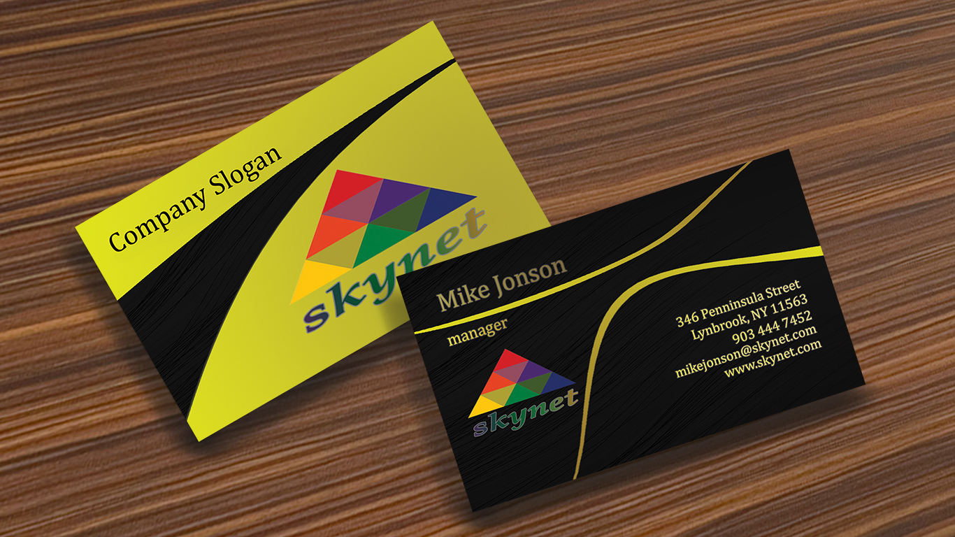 Design 2 sided AWESOME business card 2016 release for $1