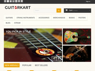 BUY 1 GET 1 FREE Permanent Guest Post on my Art,  Music,  shopping Website www. guitarkart. com