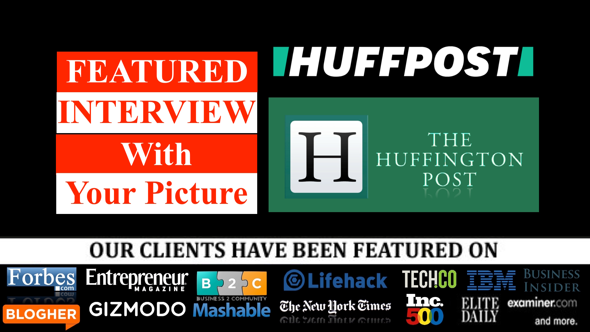 Guest post on Rarest of the rare blogs like forbes fast company for $50