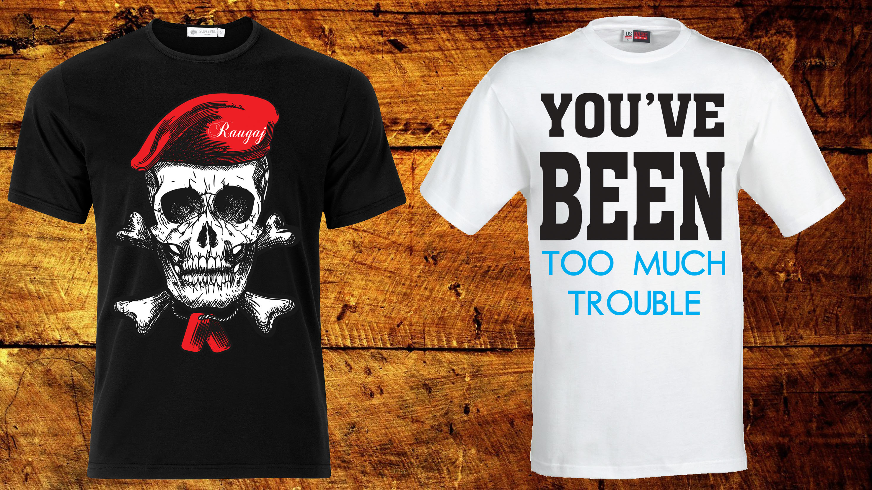 I will Design for you any T-shirt design just in 2 hours