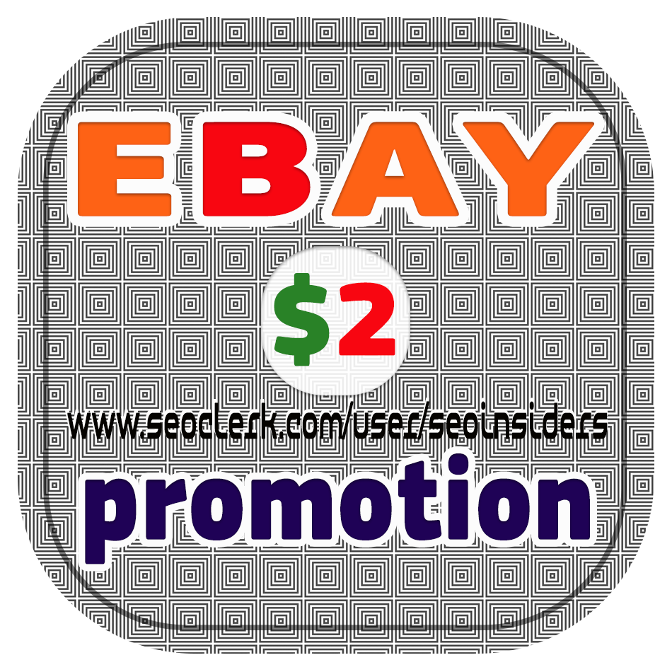 eBay SEO promotion on private networks