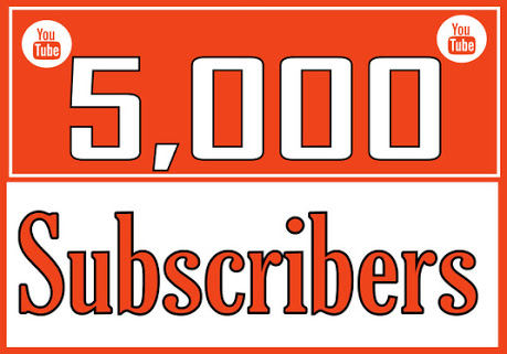 Instant 5000+Youtube Subs cribers Or 1000 Lik es Or 20,000 V iews Super Ultra Speed