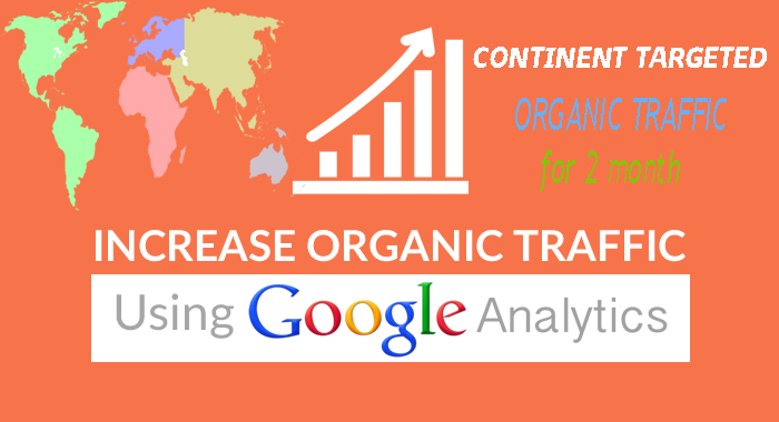 drive CONTINENT target organic traffic,Keyword targeted for 1 months