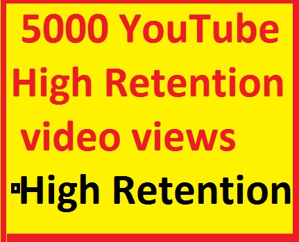 6500-8000 YouTube Views very fast service only