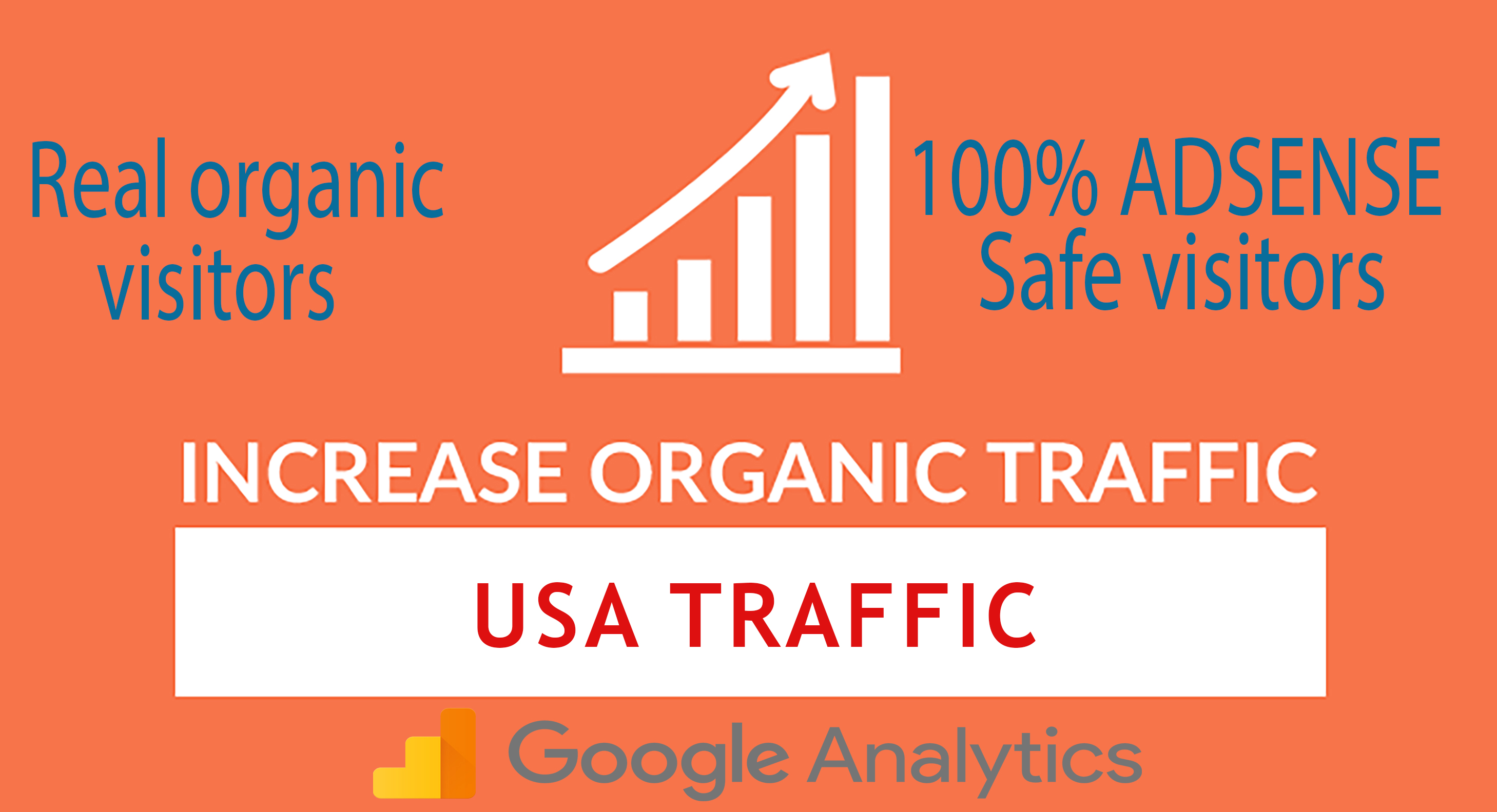 I will send daily USA keyword targeted organic traffic with low bounce rate