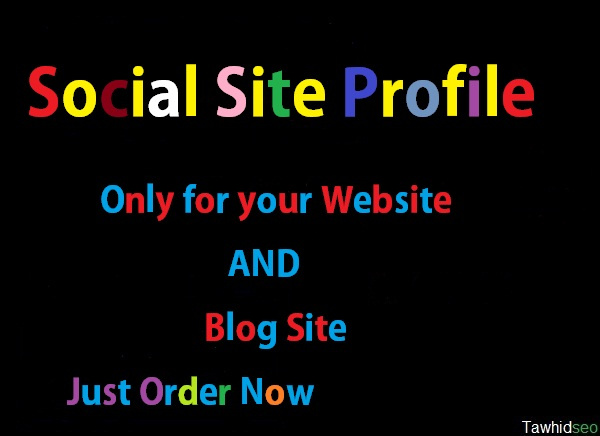 create Social Site Profile Base on Your Site or Blog