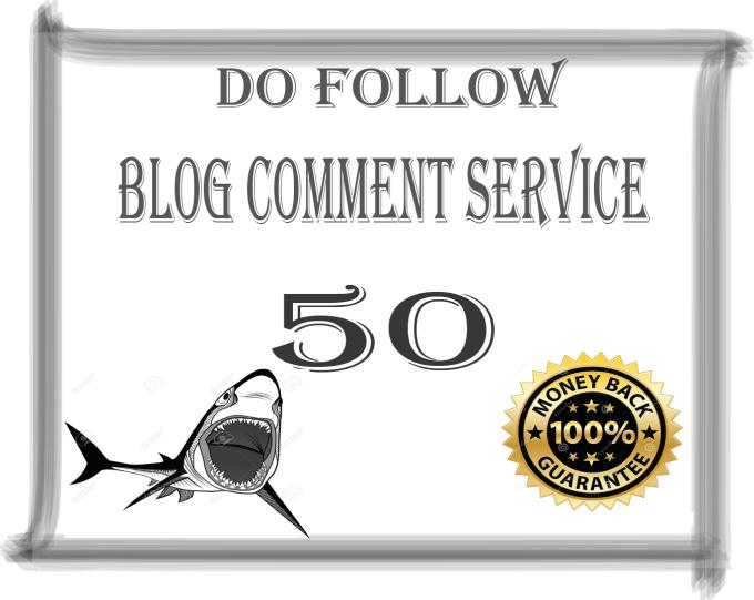 Provide you 50 Manual Blog Comment High DA PA Backlinks