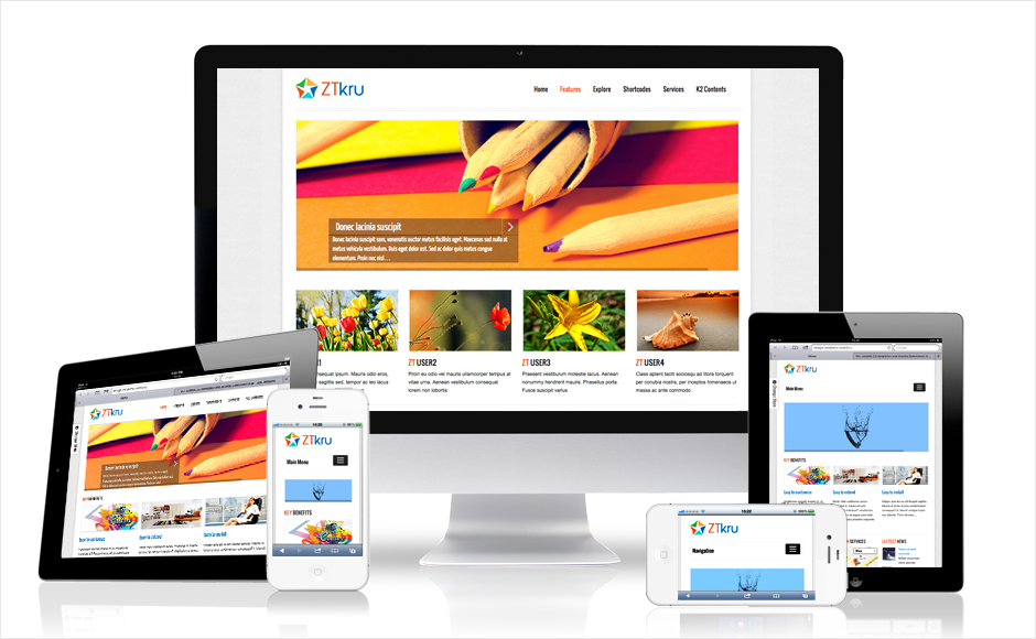 Will build and design a responsive website for your company or establishment