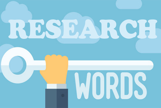 do SEO keyword research on your website