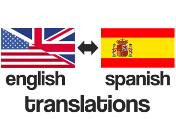 English To Spanish: Translate From Spanish To English 1000 Words For $5
