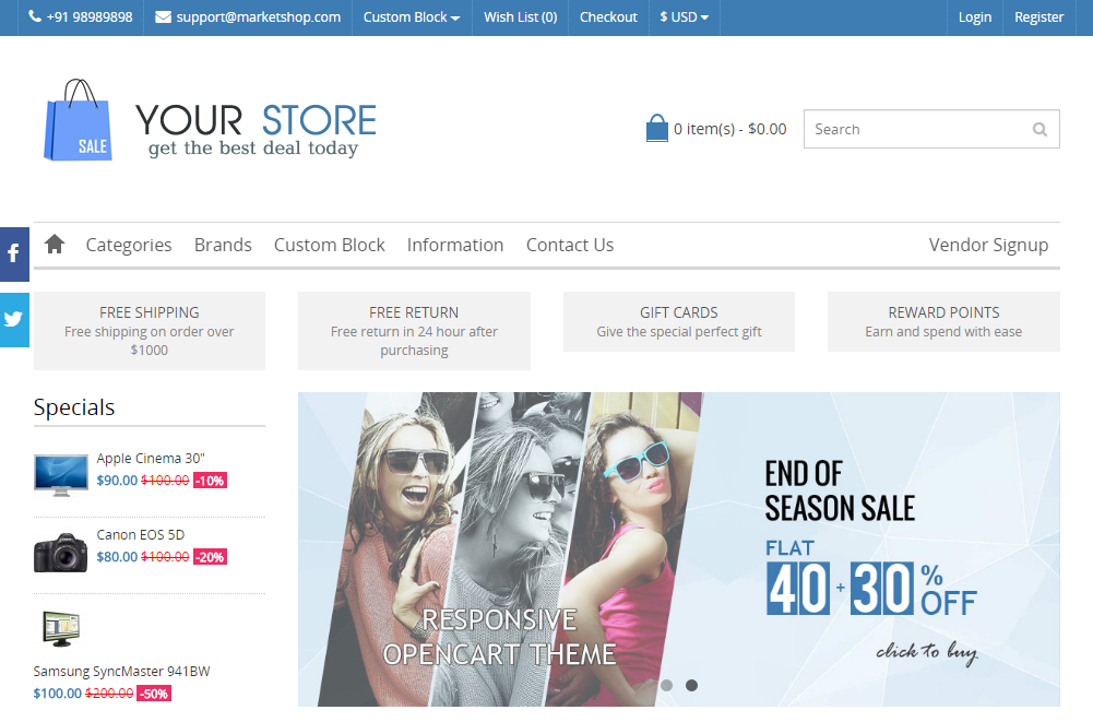 E-Commerce Website For Sale