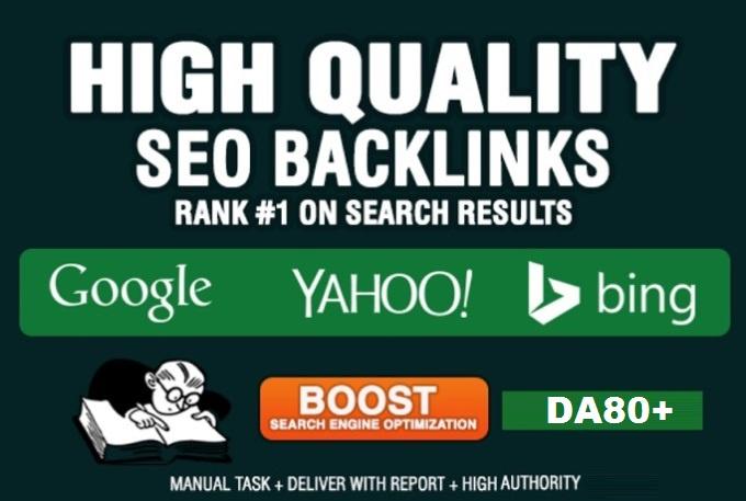 Create White Hat 45 SEO Backlinks