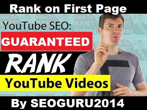 GUARANTEED PAGE 1 RANK YOUTUBE VIDEO