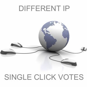 manage for you 100 Different IP votes for your Online Voting Contest