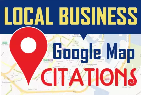 100 Google Map Citation for Local SEO Map Ranking
