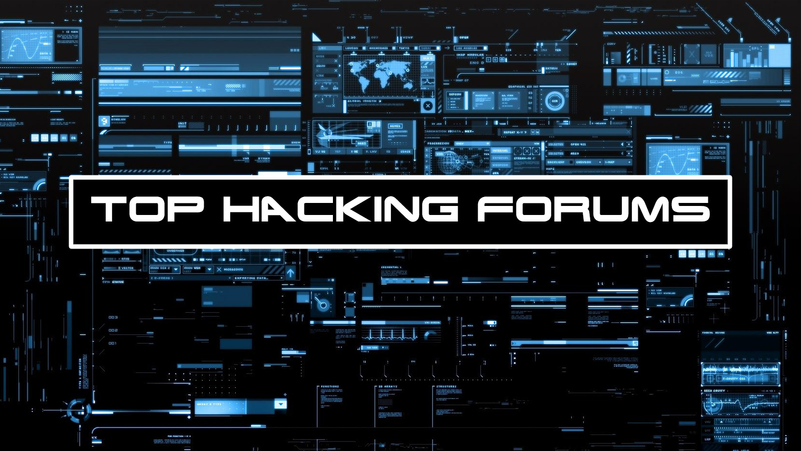 List of 16 forums dedicated to hacking,  modding,  codeing