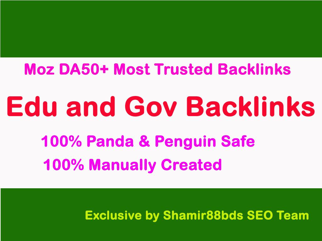 Trusted 17 Edu Profile Backlinks for Organic Search Rankings DA60-100