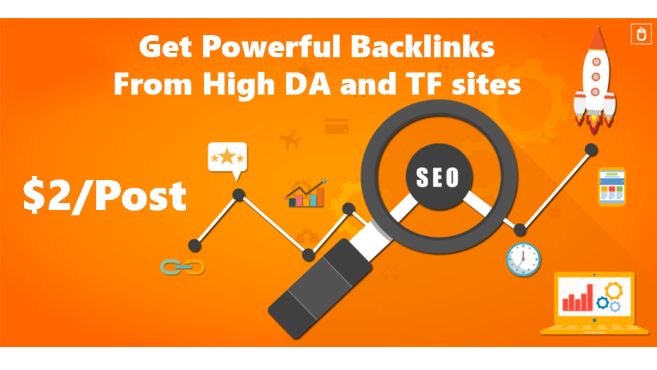 Get Powerful Backlinks from High DA and TF sites