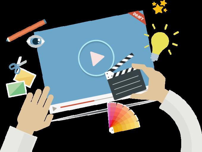 create bussines, marketing video presentation