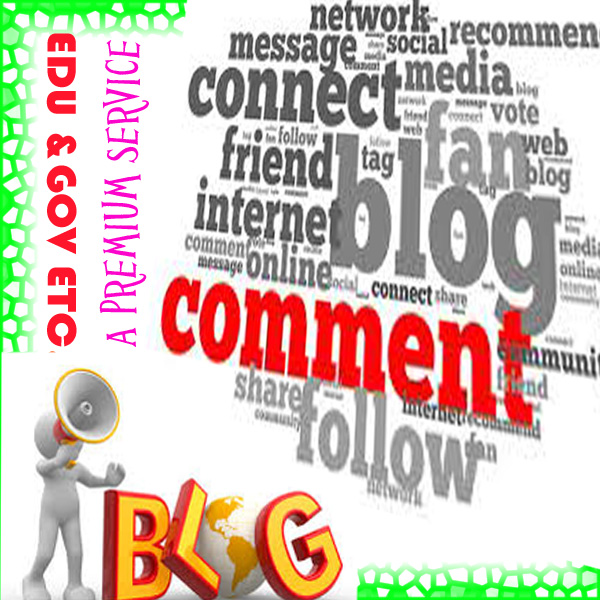 I OFFER YOU 30 PREMIUM SEO BLOG COMMENTS