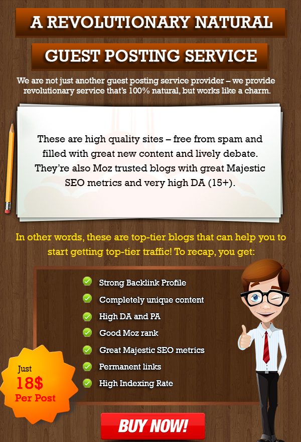 Real Guestpost on HQ Niche Blogs
