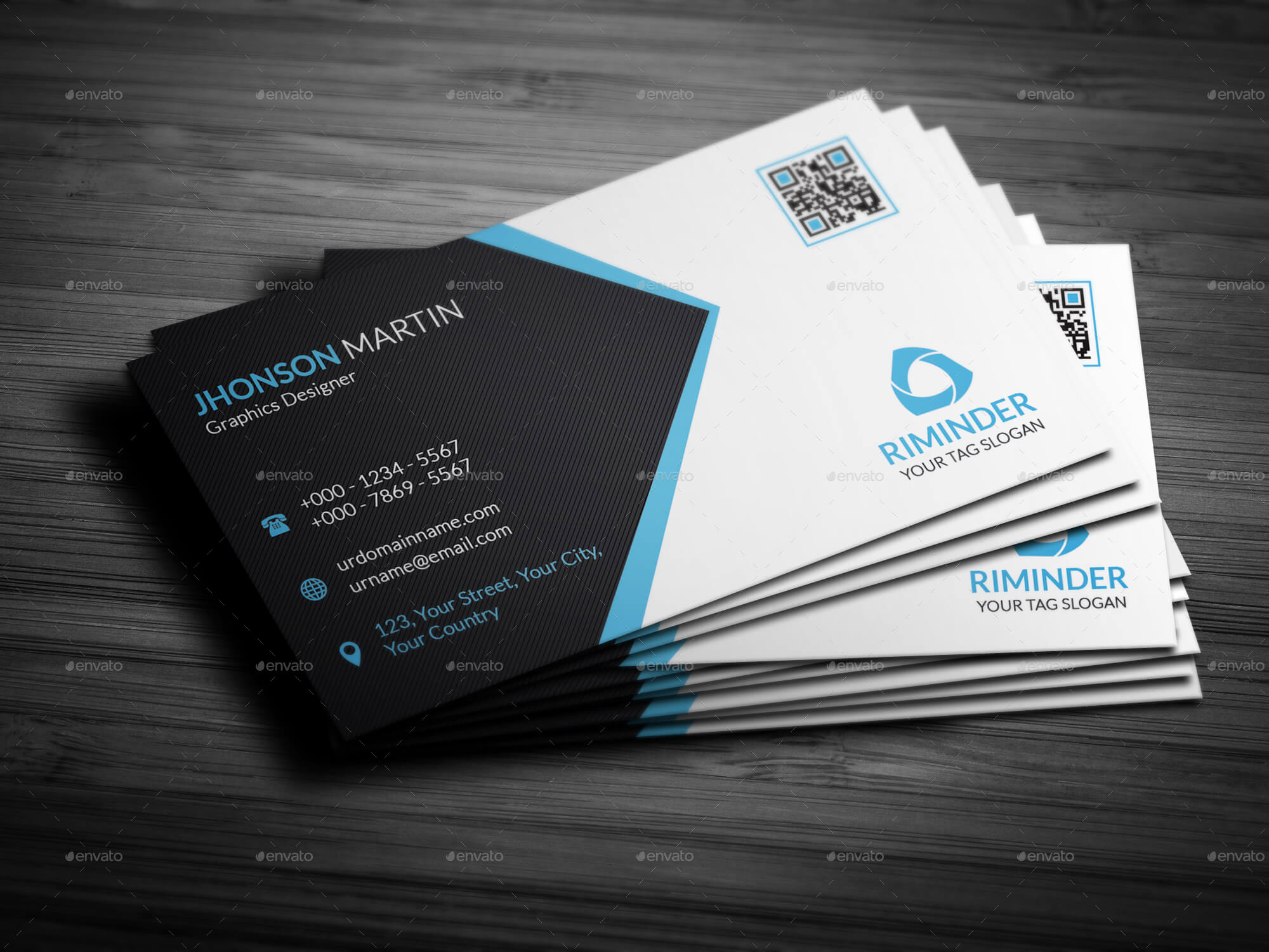 design outstanding 2side business card in 24 hrs for $5 seoclerks