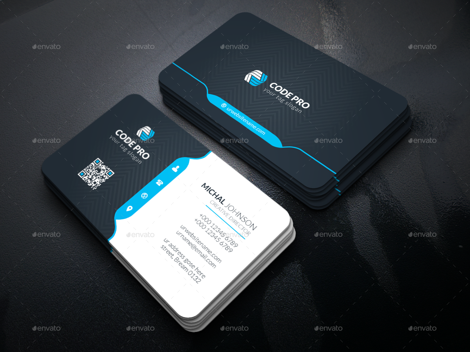 design OUTSTANDING 2side business card in 24 hrs for $5 - SEOClerks