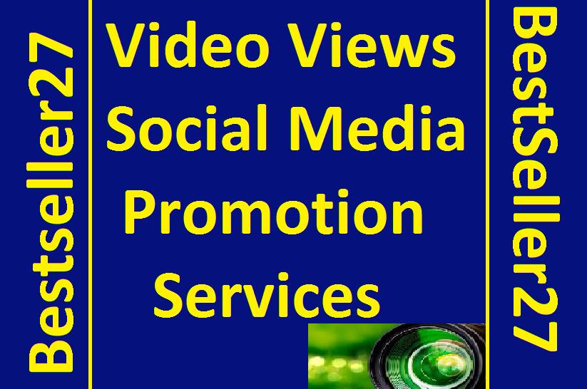 Get Video Views Promotion Social Media Marketing