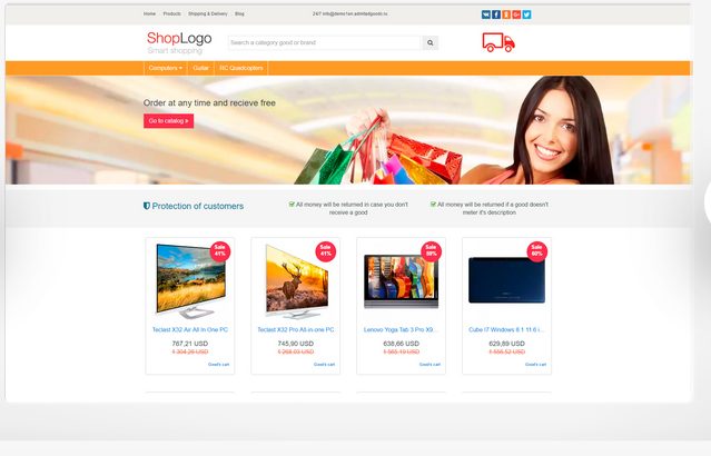 Get a beautiful Banggood and Gearbest Affiliate site.