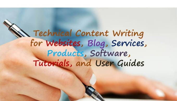 Technical content writing for your website,  blog, products or services etc