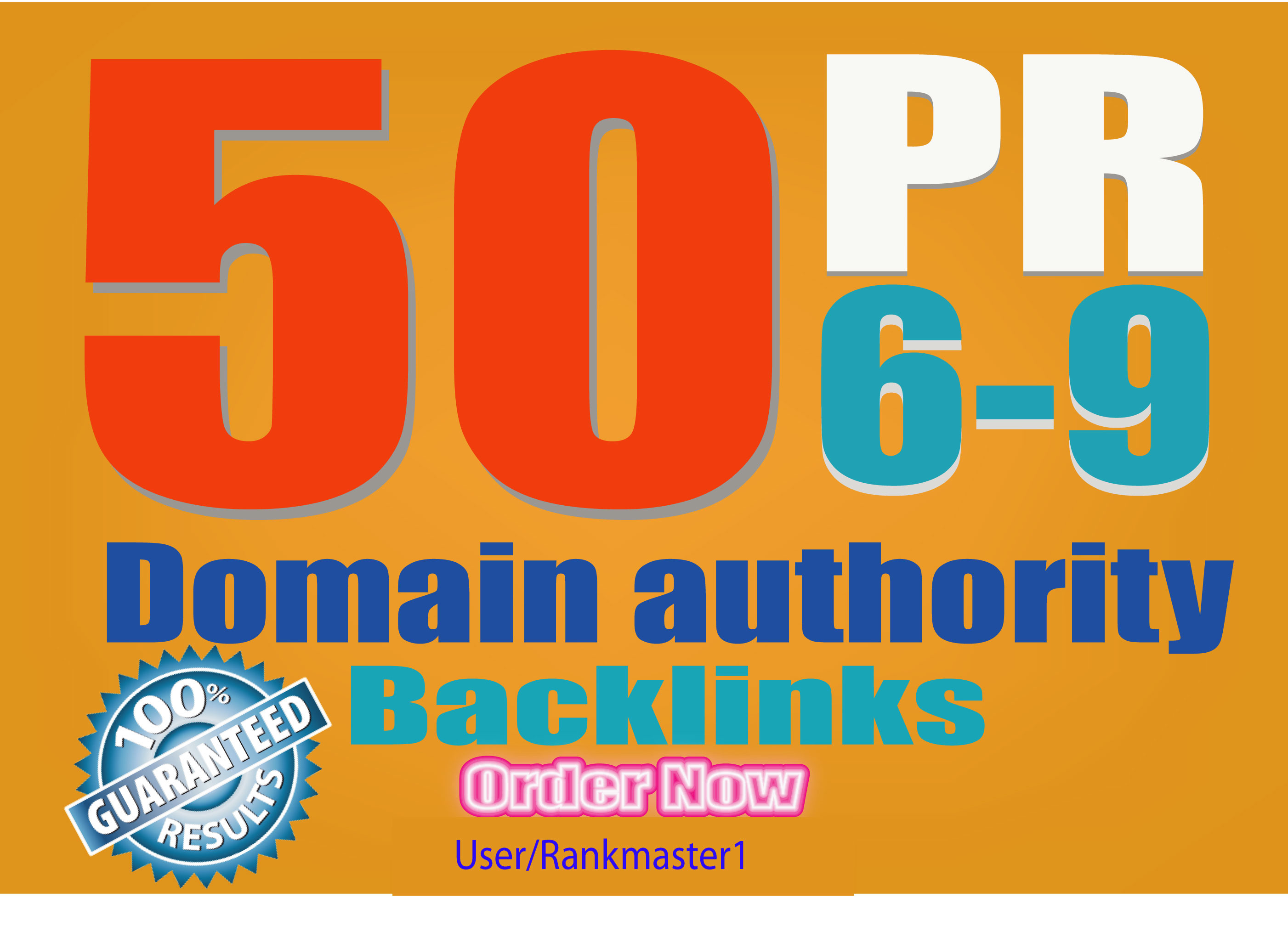 24 Hour Delivery: 50 PR7-9 High Authority Backlinks