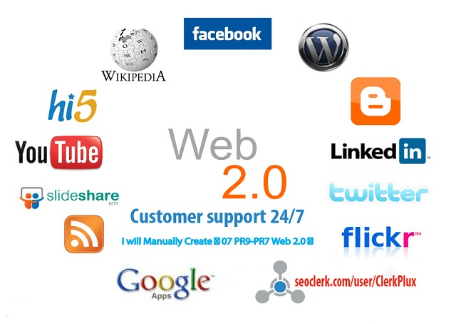 I will create 45 high PR Authority Web2 Blog with 5000 2nd Tire Contextual Backlinks