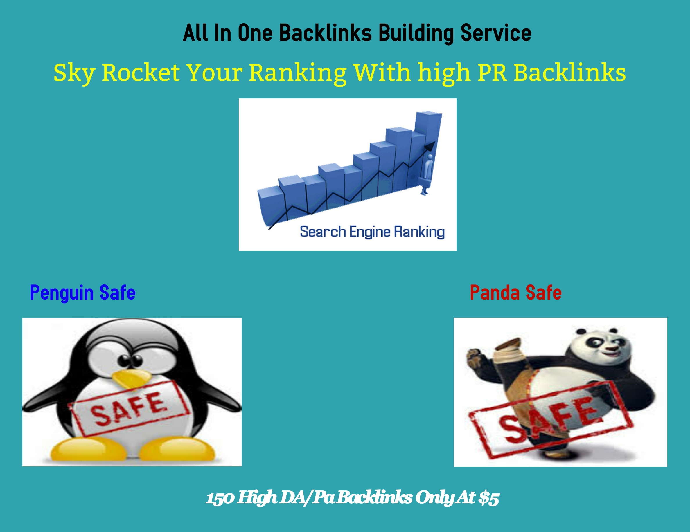 Sky Rocket Your Ranking With 150 High PR Backlinks