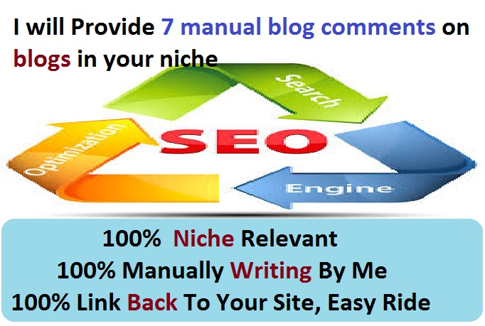 Leave 5 Niche Blog Comment Manually To Get More Backlink To Your Site And Dominate Your Niche