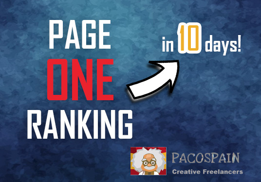 Get you Page 1 ranking in 10-15 days! + FREE 300 daily visitors for 30 days