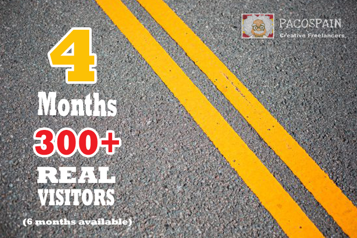 send UNLIMITED genuine real Website TRAFFIC for 4 months