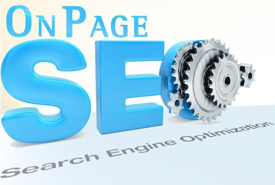 Provide onpage SEO in your website
