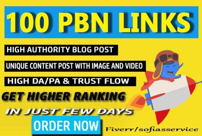 Build 100 PBN Links with Trust Flow