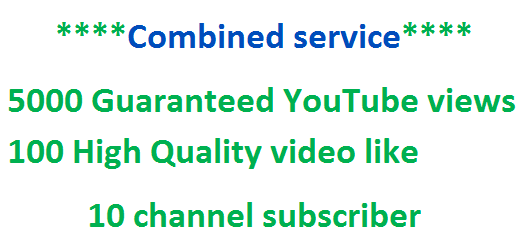 Add Up To  222 Guaranteed YouTube video like within 24 hours