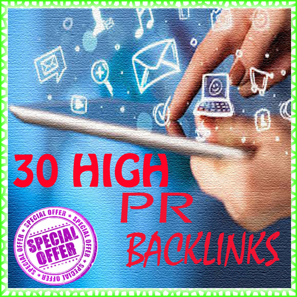 To perform greatly in the online trade world,  I offer you an effective HIGH PR Back links Service.