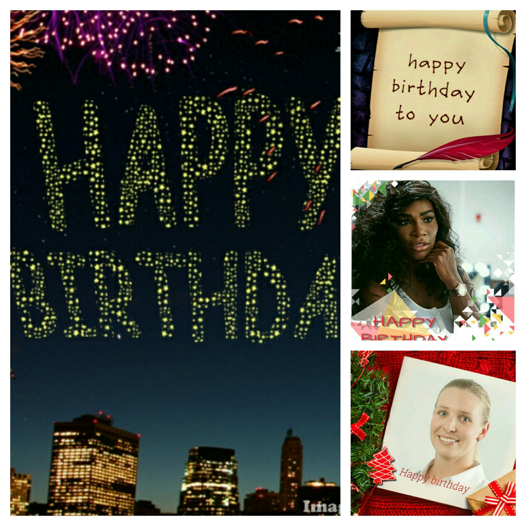 Wish someone a happy birthday