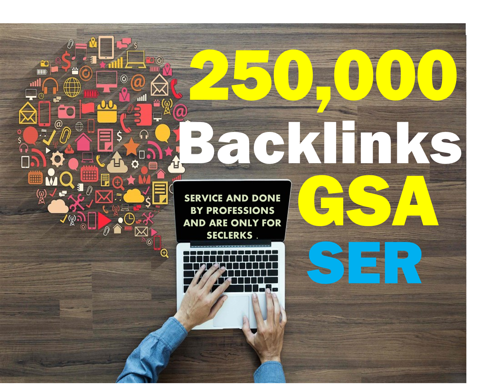 GSA 600,000 BACKLINKS HIGH Authority For SEO Ranking