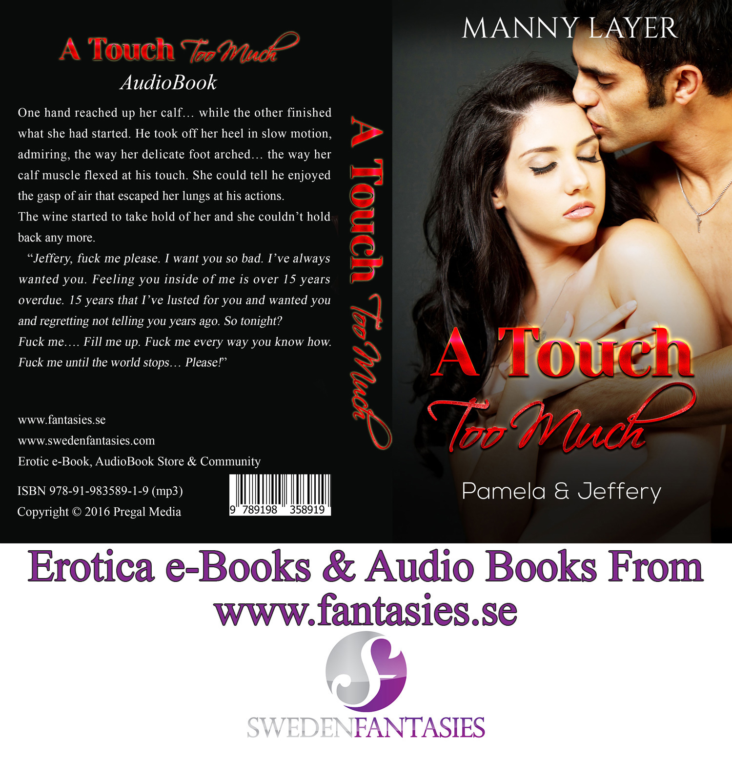 Give You Erotica Audio Book and e-Book Bundle